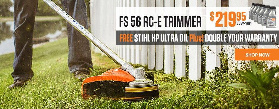 Free STIHL HP Ultra Oil with purchase